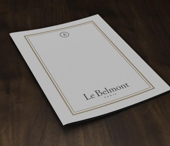 Dossier de presse - Hôtel Le Belmont