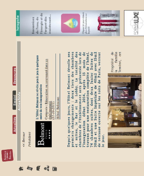 Le Journal des Palaces.com - Bientôt l'inauguration