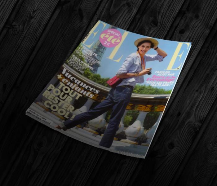 Magazine Elle - Le Bar de l'Hôtel Le Belmont